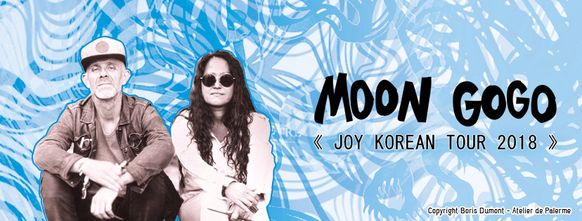 Moon Gogo on tour in south korea